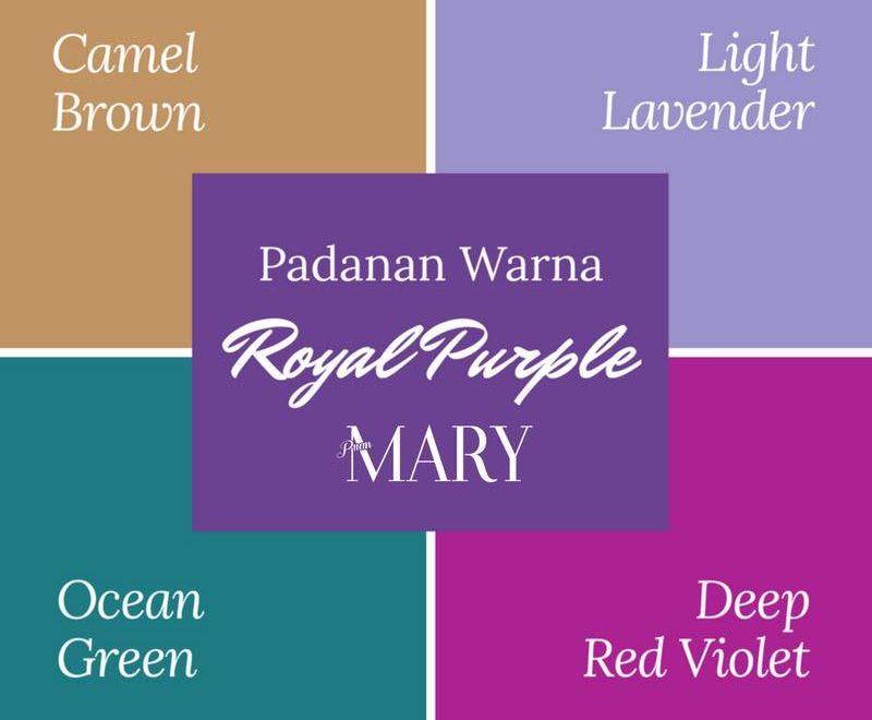 Warna Warna Raya Puan Mary