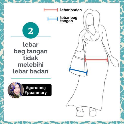 Tip Memilih Beg Tangan Wanita
