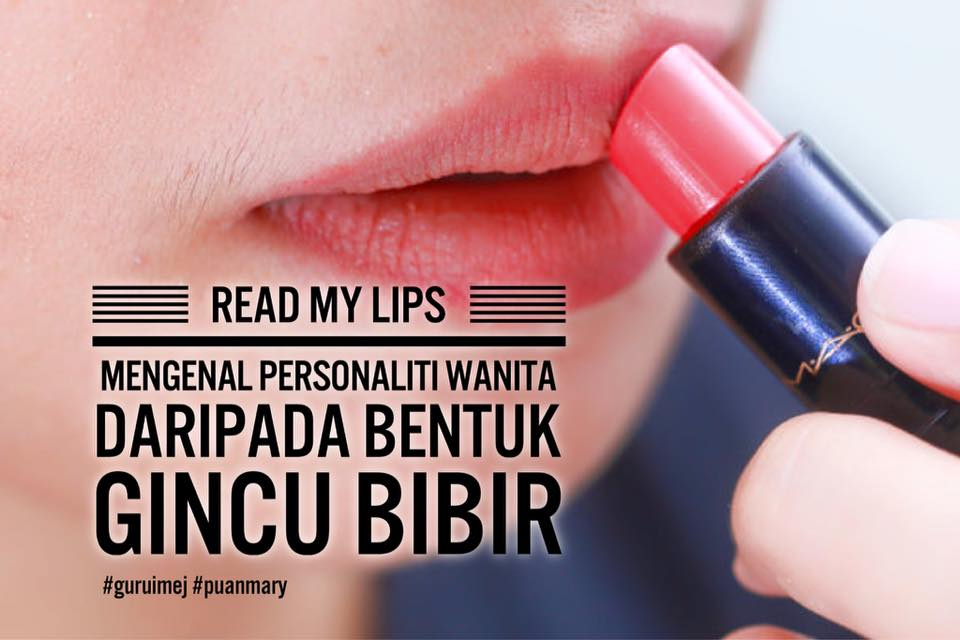 Karakter dan Personaliti Wanita Berdasarkan Bentuk Lipstik