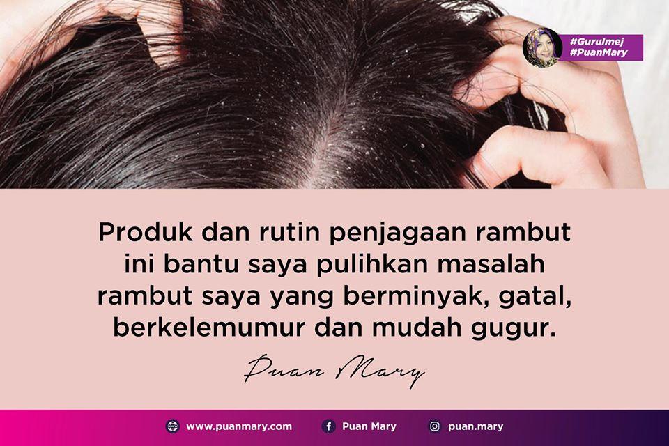 Tip Penjagaan Rambut