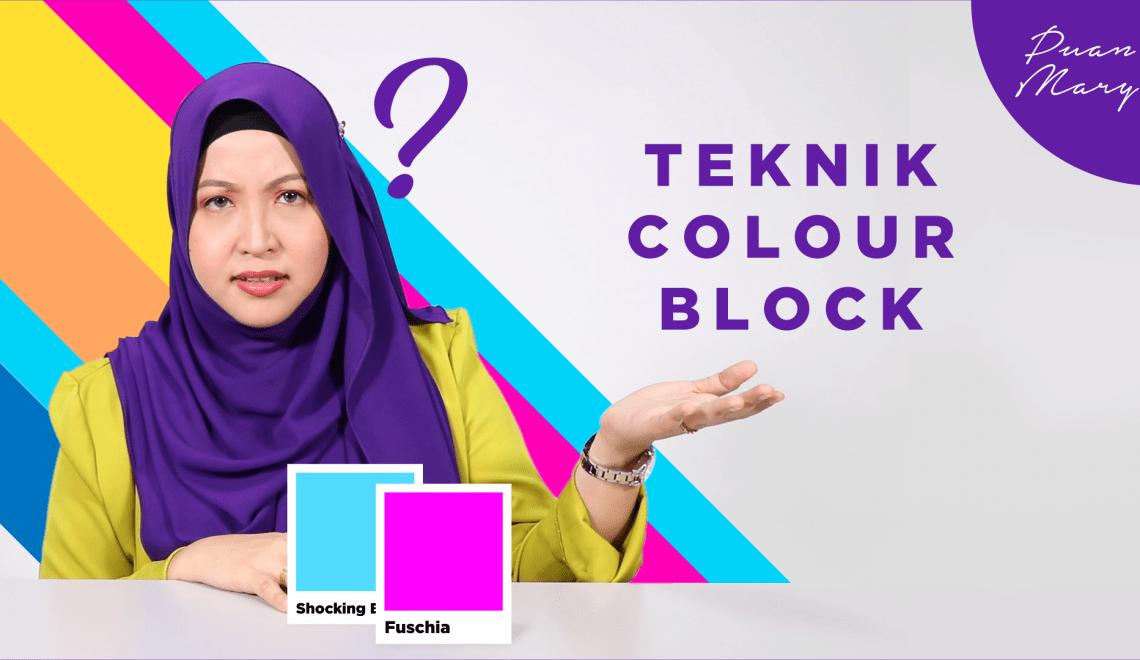 Teknik Colour Block