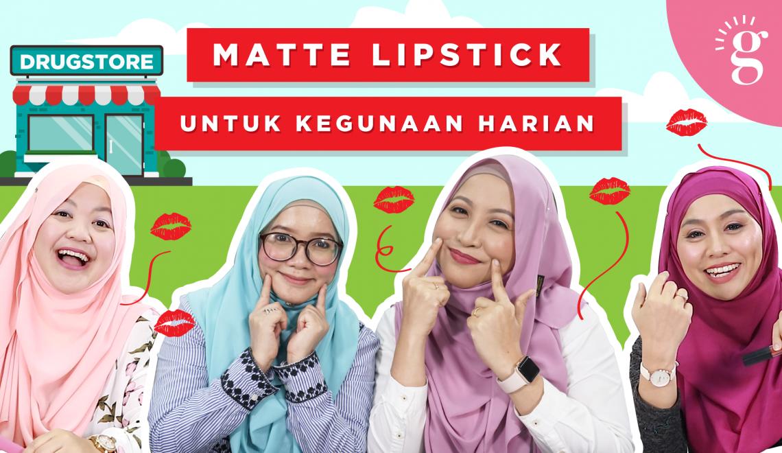 Lipstick Untuk Kegunaan Harian