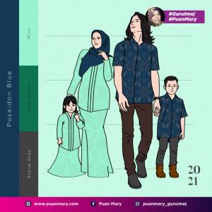 21 Padanan Warna Baju Dan Tudung Raya Tahun 2021 Lengkap