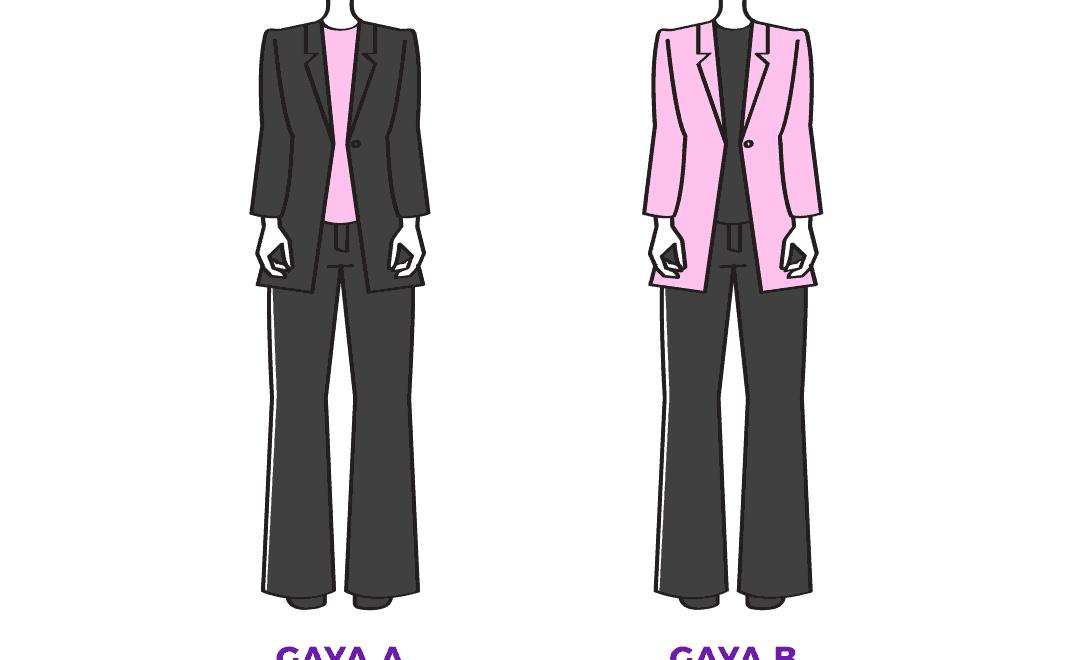 Tip Memilih Warna Pakaian Agar Kelihatan Lebih Kurus