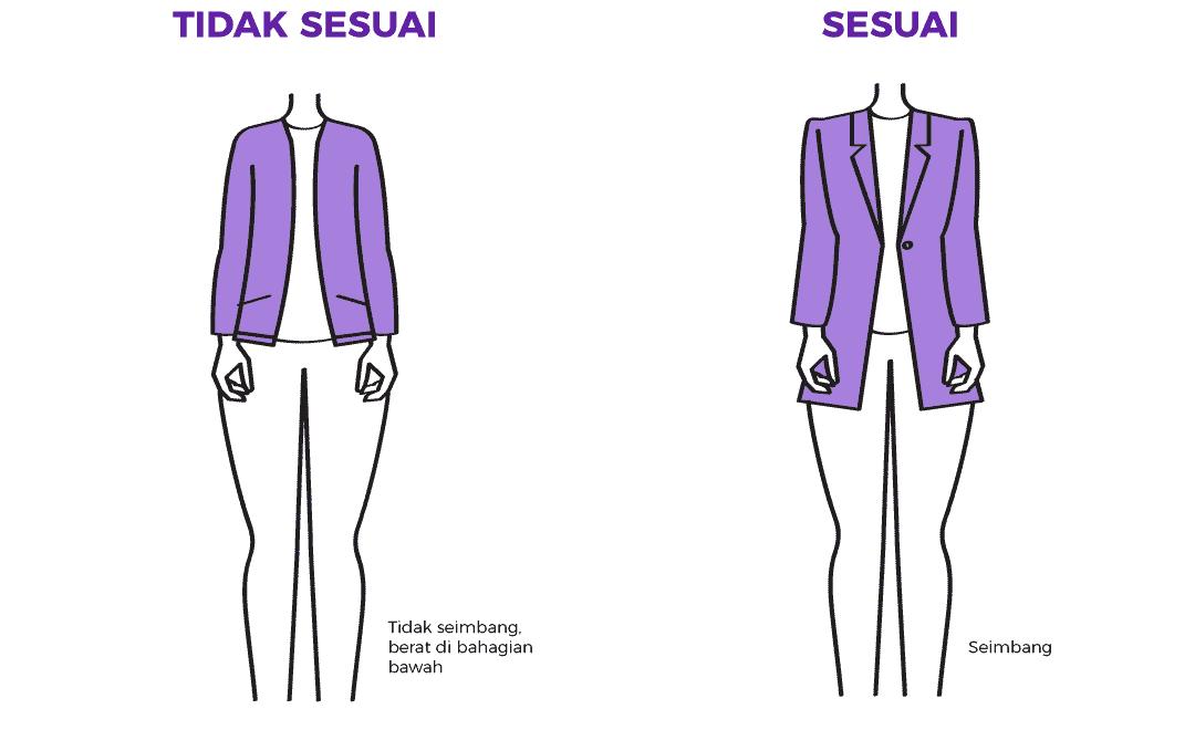 Tip Memilih Jaket Yang Sesuai Untuk Wanita Yang Berbadan Pear